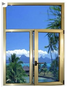 Thermal Break Aluminium Casement Window (pH-8013) pictures & photos