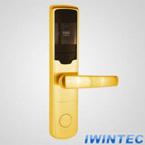 Luxury Electronic Hotel Door Lock (V-RF2009C) pictures & photos