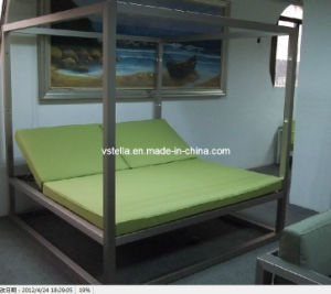 High Class Aluminum Outdoor Garden Daybed for Hotel Resort pictures & photos