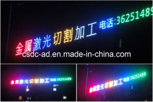 LED Luminous Signs/Advertising Sign /LED Luminous Characters Exposed (HLAD-15)