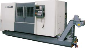 Dl-25mh Universal Turning Center Slant Bed CNC Lathe
