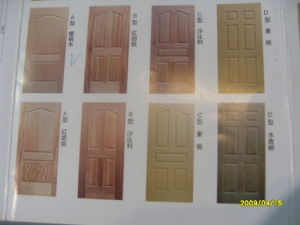 HDF Moulding Door Skin pictures & photos
