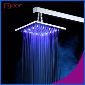 Fyeer 8 Inch 304 Stainless Steel LED Shower Head pictures & photos