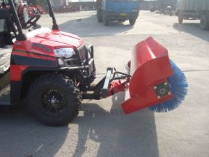 Mini Snow Sweeper Machine
