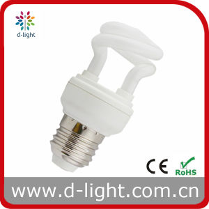5W E27 Half Spiral Compact Fluorescent Lamp pictures & photos