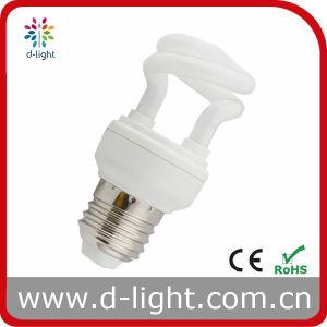 5W E27 Half Spiral Compact Fluorescent Lamp