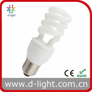 15W Half Spiral Saving Energy Bulb pictures & photos