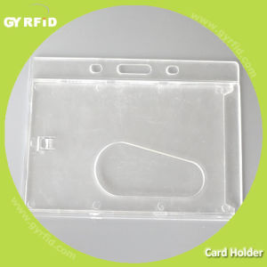 Rugged Plastic, Double Layer, Transparent White Card Holder pictures & photos