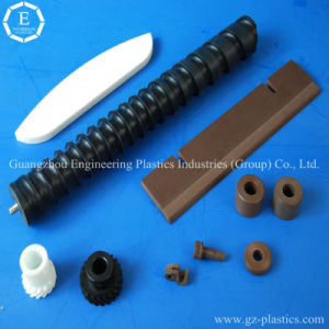 Engineering Accessories Custom UHMW-PE Polyethylenes Plastic Screw Products pictures & photos