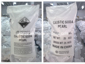 High Quality Caustic Soda Pearls with SGS Inspection (NaOH 99%) pictures & photos