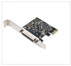 PCI-E Parallel Port Host Controller Card (FG-EMT03B-1A)