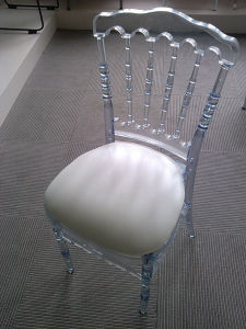 Acrylic Napoleon Chair/Resin Napoleon Chair pictures & photos