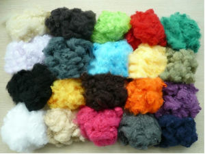 Colourful Polyester Staple Fiber pictures & photos