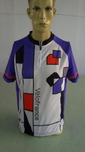 100% Polyester Customized Sublimation Print Cycling Wear