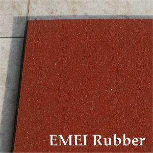 Premium 1mx1mx15mm Durable Rubber Floor for Sports pictures & photos