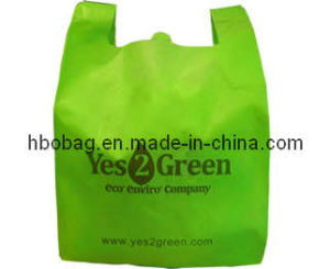 Fashion Green PP Shopping Bag (HBO20009)