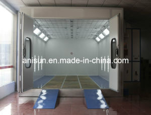 Auto Paint Spray Booth with Side Lamp and Exhaust Cabine