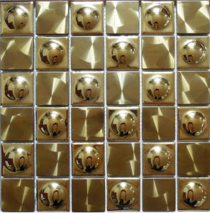 Wall Metal Mosaic Tile (SM241) pictures & photos
