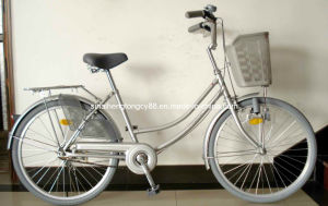 Silver Lady Bicycle with Rear Skirt Guard (SH-CB050) pictures & photos