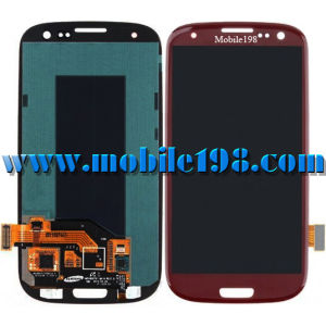 LCD Screen for Samsung Galaxy S3 I9300 Red pictures & photos