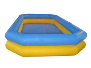 Colored Inflatable Water Pool