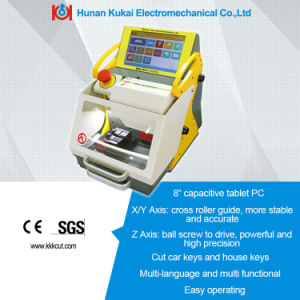 Lightweight and Modern High Accuracy Touch-up Screen Key Numerial Control Automatic Key Cutting Machine pictures & photos