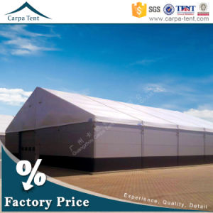 Semi-Permanent 15m Width Temporary Waterproof Fabric Warehouse Storage Tent pictures & photos