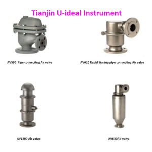 Vent Valves for Continuous Operation, , Pipe Connecting Air Valve pictures & photos