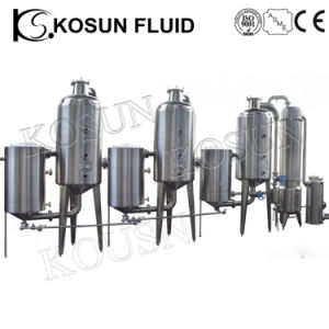 Stainless Steel Herbal Essential Oil Solvent Extraction Plant Price pictures & photos