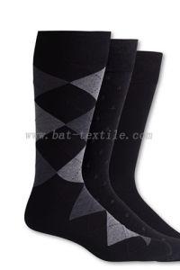 Men′s Cotton Argyle Socks pictures & photos