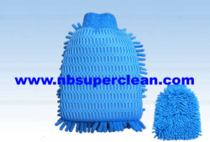 Microfiber Soft Car Wash Mitt (CN1410) pictures & photos