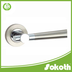 Chrome Plated Door Handle with High Quality pictures & photos
