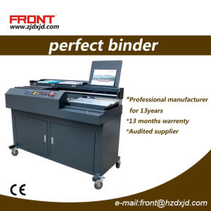 Automatic Perfect Book Binding Machine (DX-H460F+) Glue Binder pictures & photos