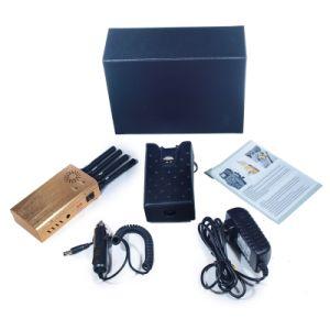 2015 New Design Portable 4 Bands CDMA 3G GSM GPS Cellphone Signal Jammer pictures & photos