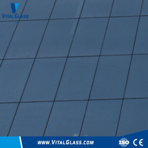 Colored Reflective Glass/Dark/Ford Blue Tinted Glass/Building Glass pictures & photos