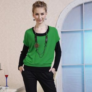 Fashion Lady′s Cotton T-Shirts 11s146