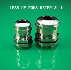 Metal/Metallic Cable Gland,Pg Series,Brass Plated Nickel, Waterproof, Dustproof, IP68, CE, RoHS