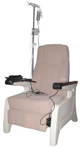 Hospital Manual Dialysis Chair Recliner Patient Seat Push Back Chair (P01) pictures & photos