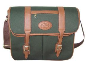 Nylon and Imitation Leather Cartridge Bag (HA296CAPU-01)