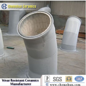 China Manufacturer Supplier Ceramic Lined Pipe Elbow for Pneumatic Fly Ash pictures & photos