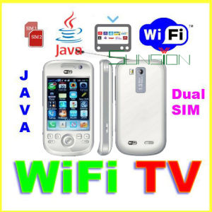 WiFi TV Mobile Phone, Dual SIM Quad band V106I