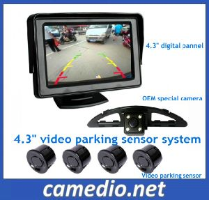 "4.3"" Digital LCD Monitor Automatic Car Parking System pictures & photos"