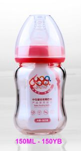 150ml Neutral Boroslicate Glass Baby Feeding Bottle pictures & photos