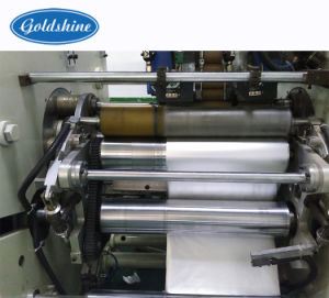 Aluminium Foil Paper Roll Cutting Machine pictures & photos