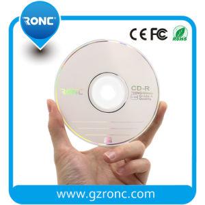 700MB 52X 50PCS Shiny Wrap Blank CD-R Printable pictures & photos