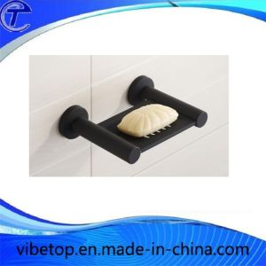 Black Stainless Steel 304 Soap Dish SD-V005 pictures & photos