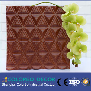 Soundproofing Material Wood Fiber Decorative Acoustic Panel pictures & photos