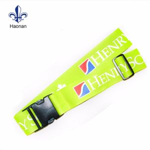 Travel Suit⪞ Ase Customized Printed Strap Polyester Luggage Belt pictures & photos