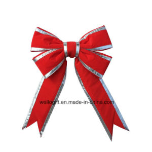 Handmade Red Christmas LED Gift Bow pictures & photos
