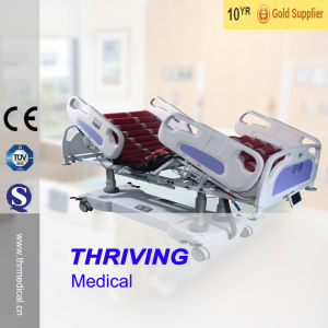 Thr-IC-15 Five-Function ICU Electric Bed pictures & photos